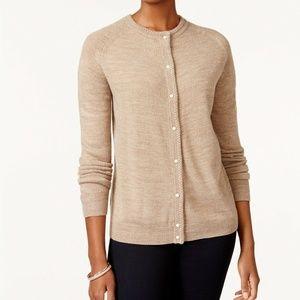 Karen Scott XS Chestnut Sweater 9BI67